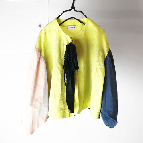 MULTI NOCOLLAR JACKET / WOMEN