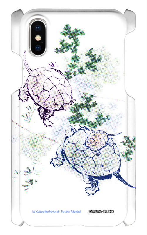 【スマホケース|iPhone X】Turtles