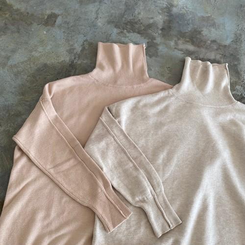 design high neck knit《N-3》
