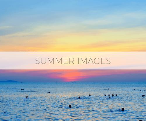 夏のフリー素材50枚パック | 著作権フリー画像 ビーチ 海 リゾート プール ハワイ 写真