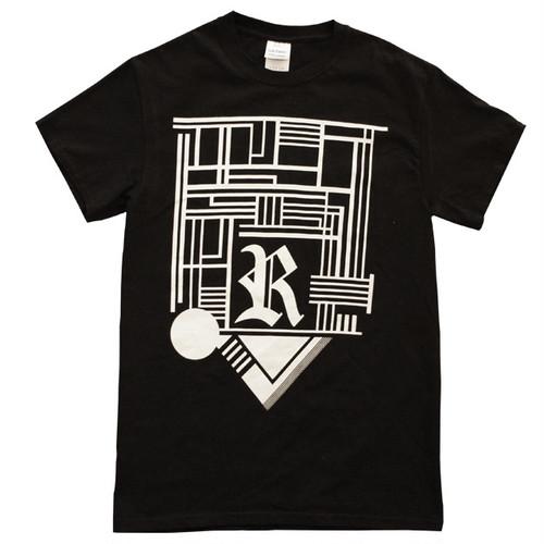 R T-SHIRTS BLACK
