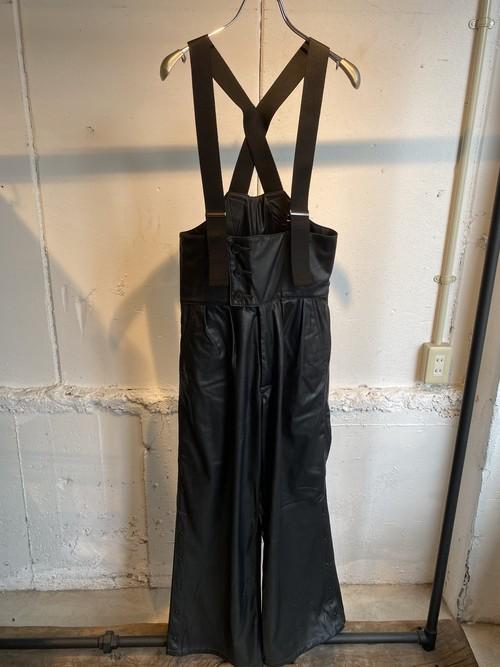 FILLTHEBILL fake leather skining pants