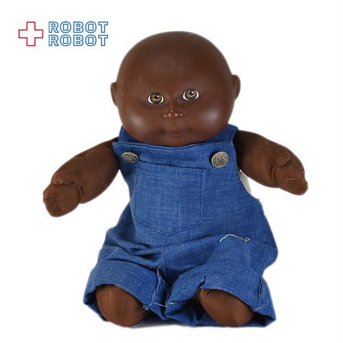 キャベツパッチキッズ キャベツ畑人形 黒人 ソフビ顔ぬいぐるみ人形