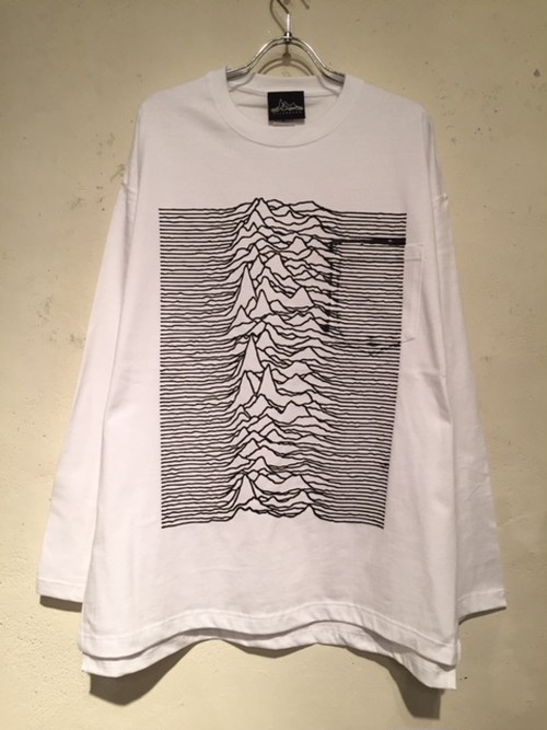 """WIDE SILHOUETTE L/S POCKET Tee """"CP1919"""" (WHITE)"""