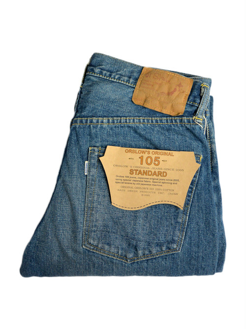 orslow105 STANDARD 5PKT DENIM 3Year Wash メンズ