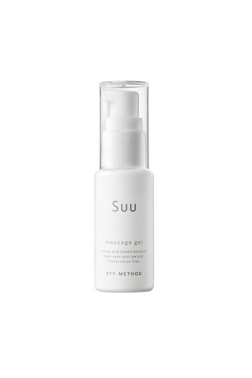 Suu マッサージ ジェル〈ジェル状化粧水〉<敏感肌・混合肌・乾燥肌OK>