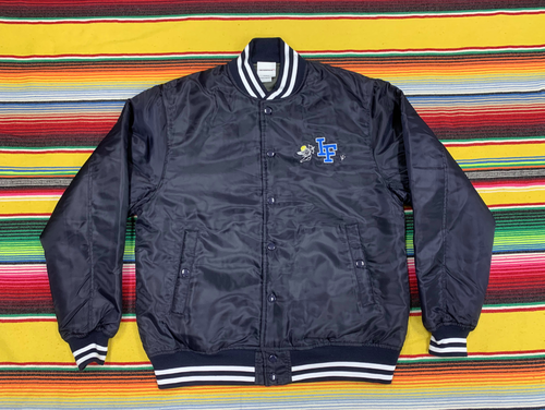 """ ANGELS ""   BASE BALL JKT   - NVY -"