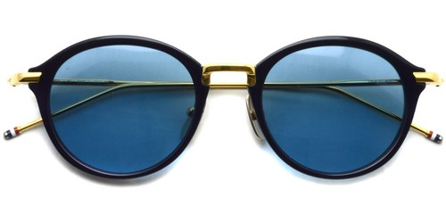 TB-011 Sun (Navy - Shiny 18K Gold - Dark Blue) / Thom Browne