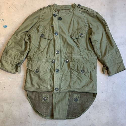 50's  British Army Cold Weather Middle Parka イギリス軍 ミドルパーカー  3rd TYPE 後期型 フード無 SIZE 1 レア オリーブ グッドコンディション ユーロミリタリー 名品 希少 ヴィンテージ BA-1315 RM1684H