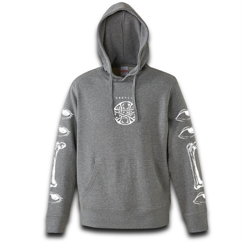 """GAZE"" GRAY [HOODY]"