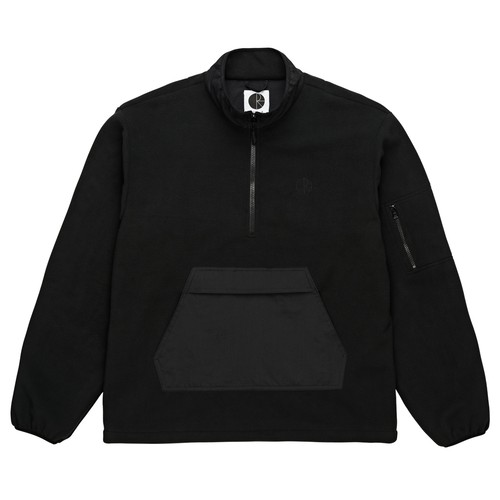 POLAR SKATE CO. GONZALEZ FLEECE JKT BLACK M ポーラー フリースジャケット