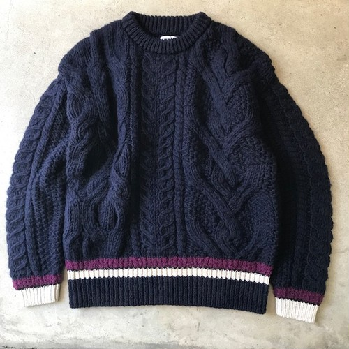 SUPER BIG ARAN P/O NAVY
