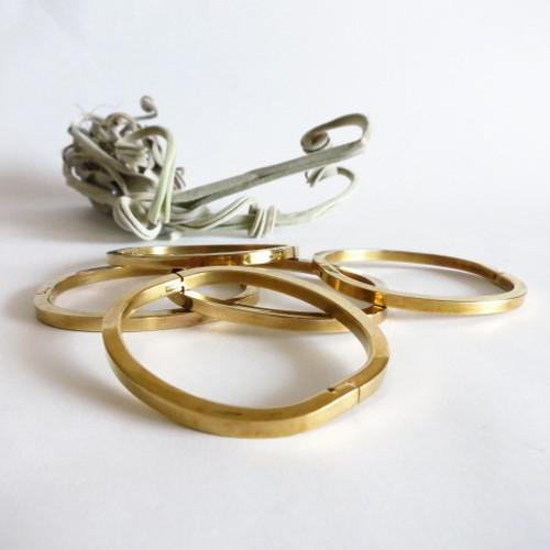 Hinge Bangle Bracelet