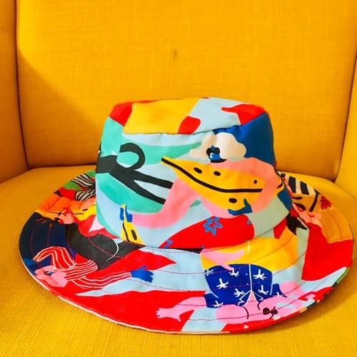 どうぶつのいるまち☆帽子フリーサイズ