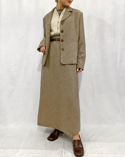 (PAL) jacket & skirt  set up