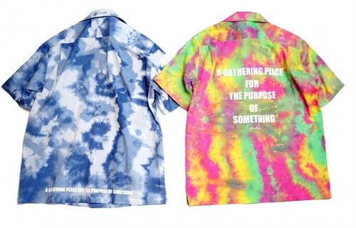 [予約商品]EFFECTEN(エフェクテン)Tie Dye aloha shirt