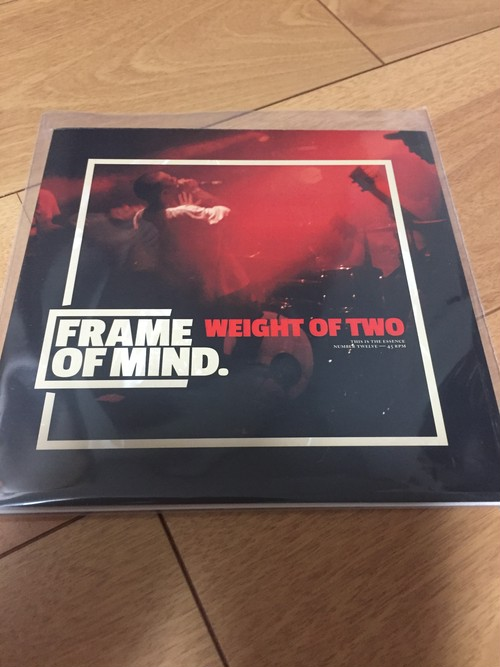 """FRAME OF MIND - Weight of Two 7"""""""