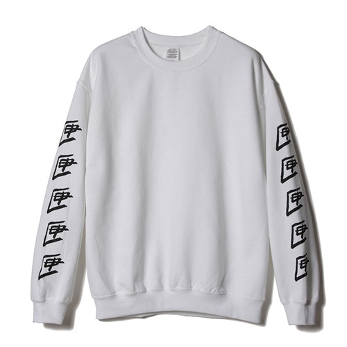 R TENBOX SLEEVEPRINT SWEAT