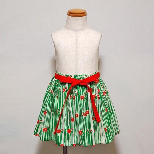 グリーンリボンスカート