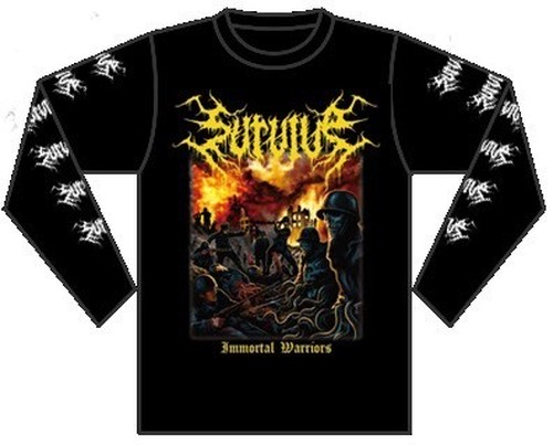 Immortal Warriors Long sleeve