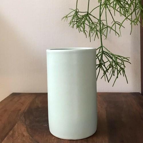 オリジナル鉢-Column ・アイスブルー