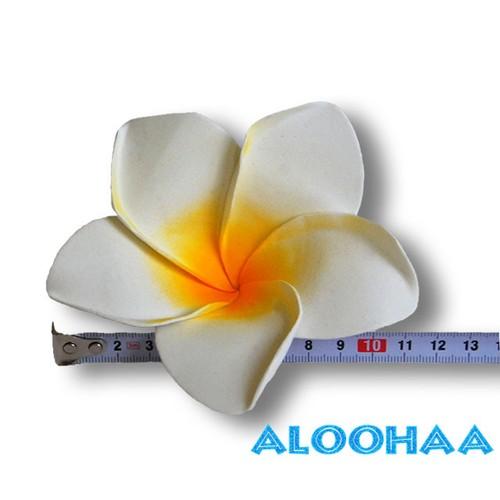 プルメリア LLサイズ 5pcパック WHITE ウレタン/造花,衣装用材料 DIY
