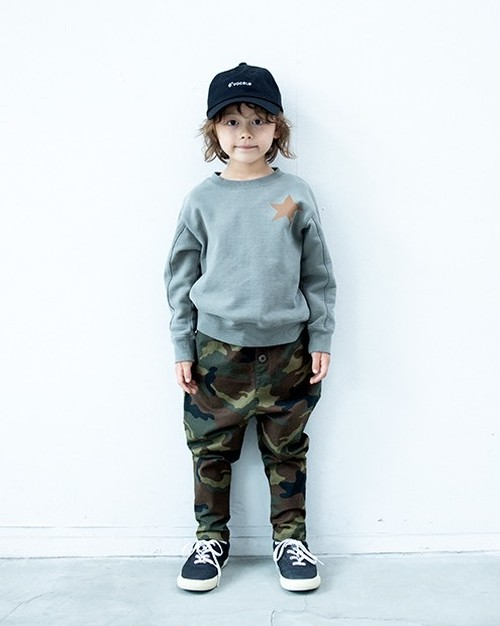 KIDS:6°vocale【セスタヴォカーレ】ステリーノプルオーバー(スモーキーグリーン/90〜120cm)