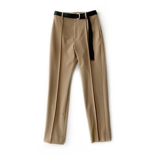 Double Standard Clothing×akko3839 ベルテッドテーパードパンツ 0506-260-211