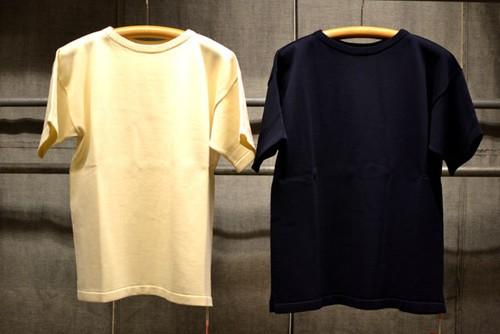 ANDERSEN-ANDERSEN(アンデルセンアンデルセン)COTTON T-SHIRTS(コットン Tシャツ)12ゲージ シングルニット