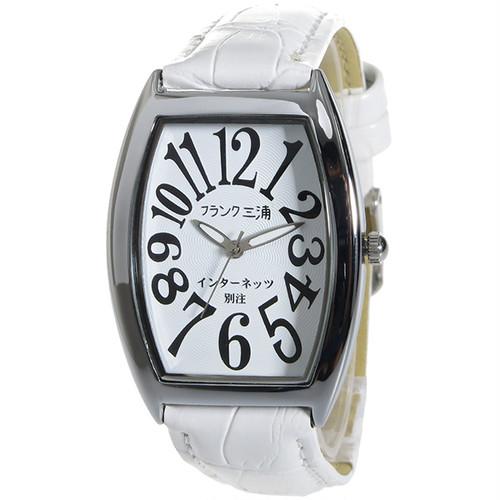 フランク三浦 インターネッツ別注 メンズ 腕時計 FM00IT-WH ホワイト/ホワイト 【ネット限定】 ホワイト