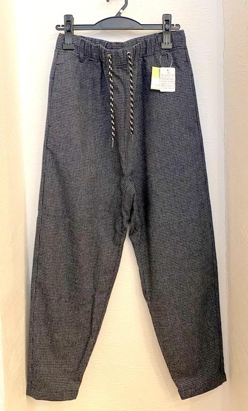 Monotone Gun Club Check Tapered Pants Navy