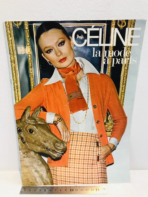 70's CELINE  la mode a paris 冊子カタログ