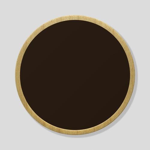 おもいでメダル:ダークブラウン/パイン(ケースなし)
