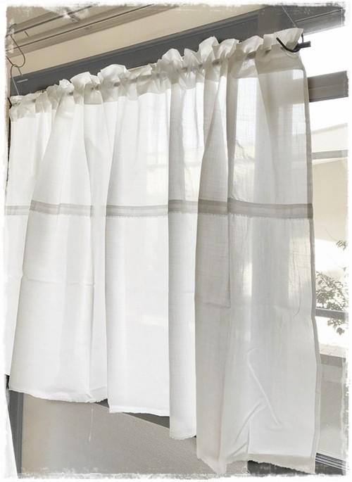 ♥綿ローン*デザインポケットカーテン【W144×H70】 ♥現品限りセール中!