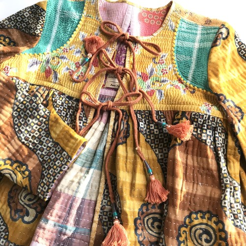 Hand Embroidered Kediya Jacket