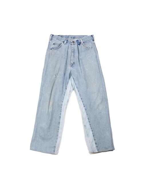 remake wide denim pants (ice)