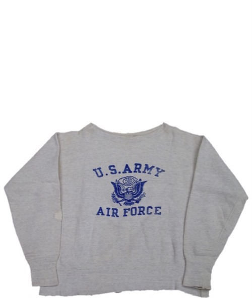 50's U.S. ARMY AIR FORCE Flock Print SWEAT(オートミール)