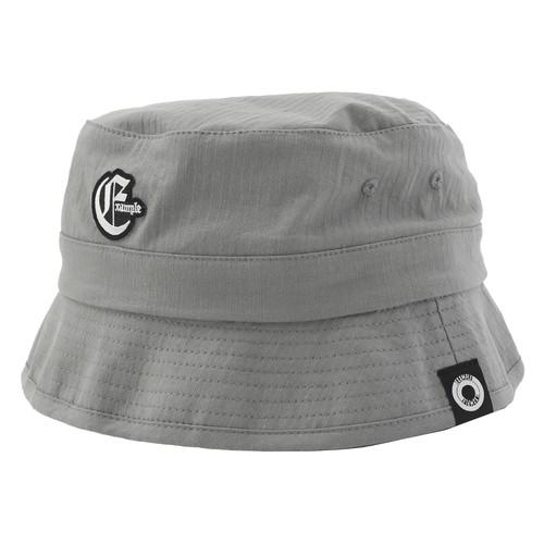 EXAMPLE OE LOGO BUCKET HAT / GRAY