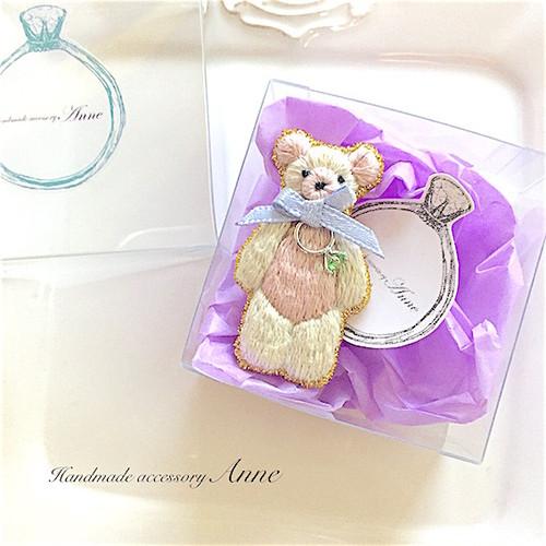 anniversary bear(ストロベリーミルクチョコ)