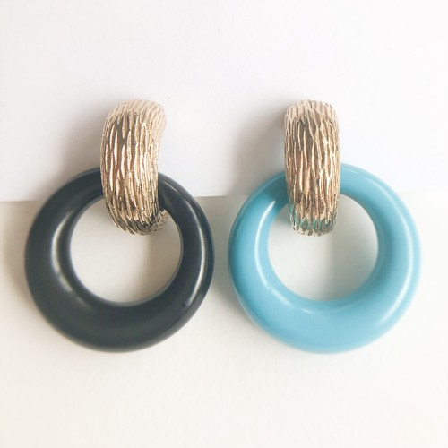 """""""AVON"""" Color Convertibles earring[e-1213] ヴィンテージイヤリング"""