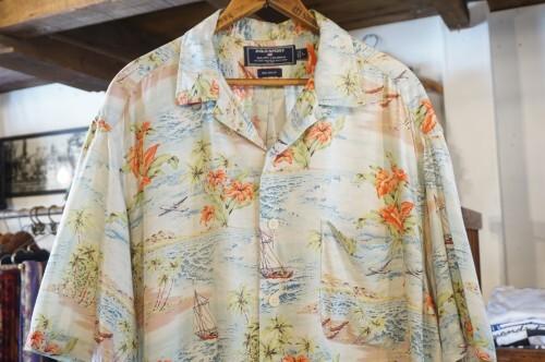 90's POLO SPORT by R.L. Hawaiian rayon s/s Shirt
