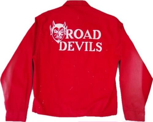 50's Dan River ROAD DEVILS Drizzler Jacket(赤)