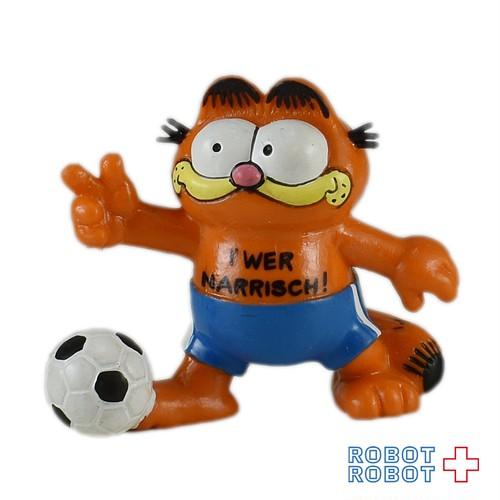 ガーフィールド PVCフィギュア サッカー I' WER NARRISCH!