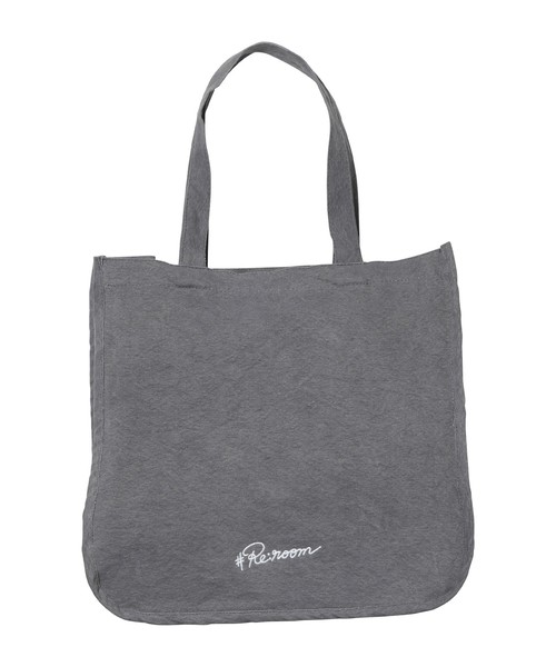 LOGO EMBROIDERY TOTE BAG[REB045]