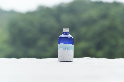 山葡萄樹液とクロモジ水でつくった ひるぜんの化粧水