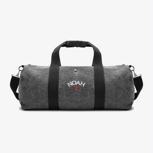 Recycled Canvas Duffle(Black)
