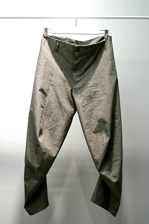 【66%OFF】【MN LAST】Ankle Cut Curve Pants (sumi)