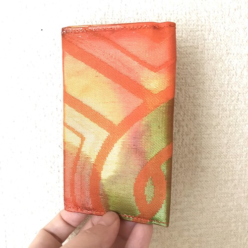 【虹いろサンセット】西陣帯カードケース
