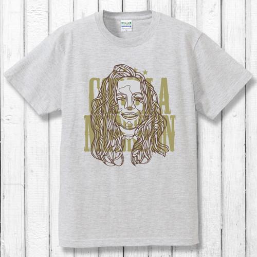 Hidden Skull Tシャツ/アッシュ