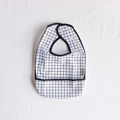 《chocolatesoup》GEOMETRY MEAL BIB / grid